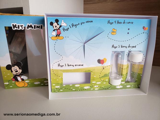 Caixa Kit Mini Confeiteiro Mickey