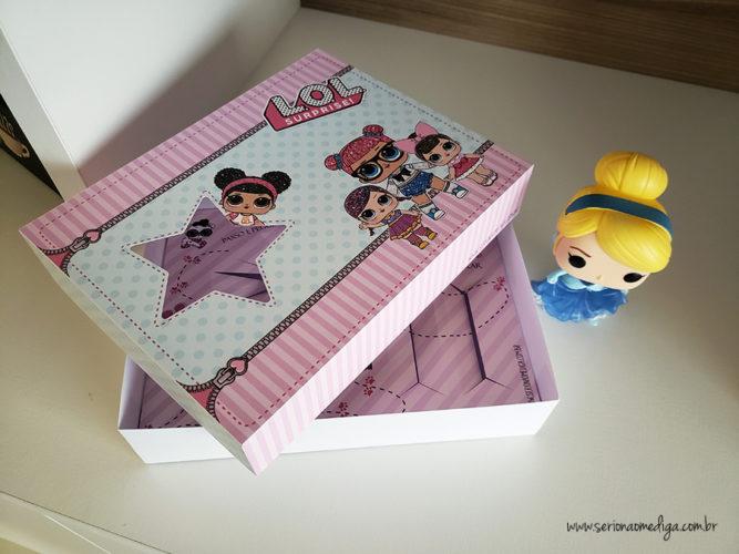 Kit Mini Confeiteiro Lol Surprise